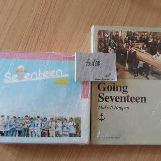 Seventeen Albums Photocard Postcard PC