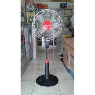 Kipas Angin Berdiri Trisonic 1601 Stand Fan 16 Inch Hitam