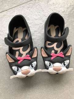 Mini Melissa Cat Shoes
