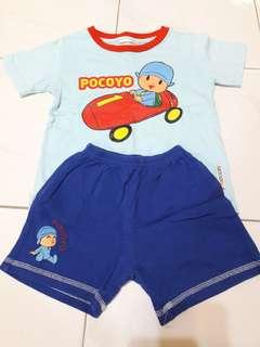 Authentic Pocoyo boy's set