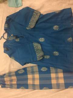 Preloved Baju Kurung 4Y