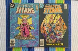 Tales Of The Teen Titans # 46 - 47