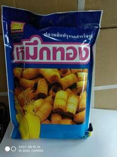 泰國香脆魷魚卷80g,