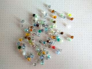 4mm seed beads in assorted colours