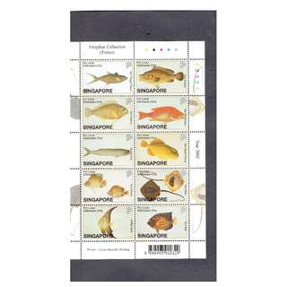 Farquhar Collection Miniature Sheet --- FISHES