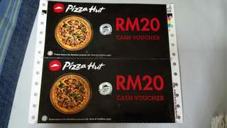 pizza hut voucher rm40