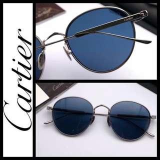 Cartier round titanium sunglasses 太陽眼鏡