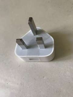 Brand new Apple UK adapter 5W USB 電源轉換器
