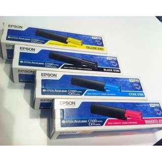 EPSON Toner Cartridge Aculaser for C1100 CX11 Series Full Set