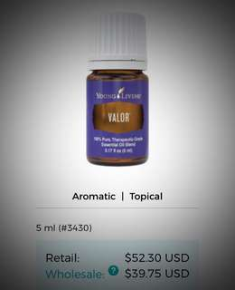 VALOR Essential Oil