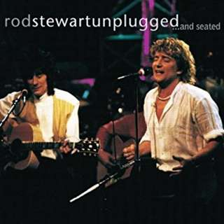 Rod Stewart ‎– Unplugged ...And Seated CD