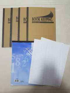 Book Keeping Book/Pad