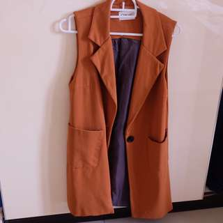 Brown Outer Vest