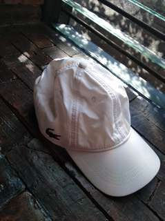 Lacoste White Cap