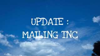 mailing tnc !! pls read !!