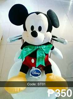 Mickey Mouse, Teddy Bear, and Other Stuffed Toys