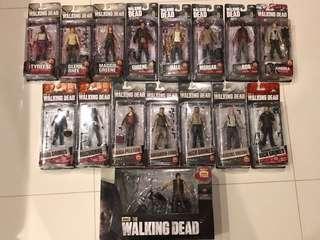 Mcfarlane Toys - The Walking Dead figures