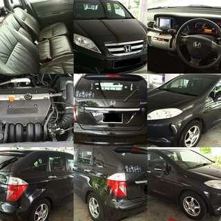 Honda edix  2.0 auto K20 enjen 6 seater RM7,400 CASH