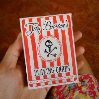 Tim Burton's Playing Cards