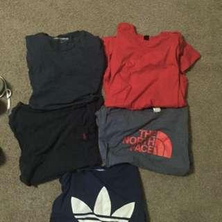 Adidas, The North Face, Ralph Lauren