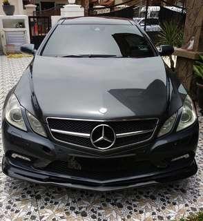 Mercedes-Benz E350 Coupe Sambung Bayar