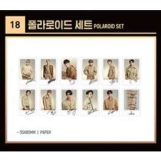 [LOOSE] Wanna One Concert Goods Polaroid Set