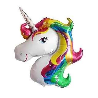 [Sell] Jumbo Unicorn balloon (colourful)