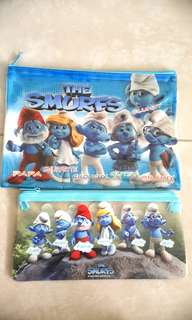 the smurfs - pencilcase/ pouch