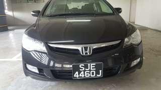 Honda civic fd Padleshift 1.8 auto 2008 RM6,600