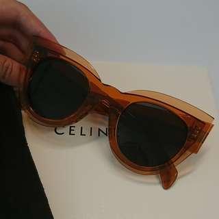 Celine 蜜糖橙色太陽眼鏡