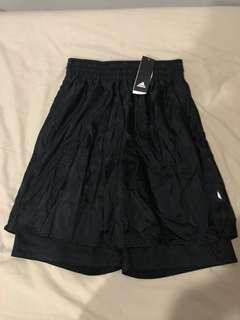 New adidas James harden basketball shorts all black medium