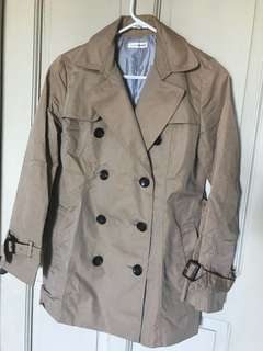 Khaki Women's Trench Coat