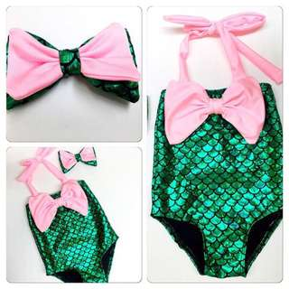Mermaid swimwear for Mom and Baby--REPRICED!