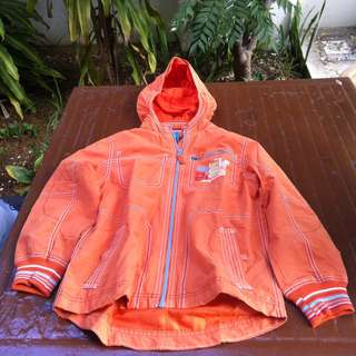 Bearspa Orange jacket Size 134. Used only twice and in good condition.