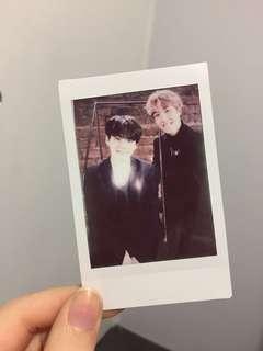 BTS Unofficial 'Sope' Polaroid