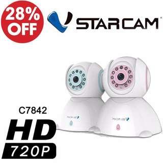 CCTVSG.NET Vstarcam C7842WIP 720P Baby Monitor