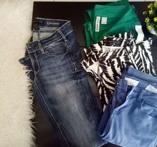 Zara x MNG jeans