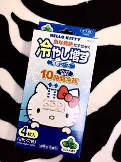 🚚 Hello Kitty成人退熱貼(日本購回)