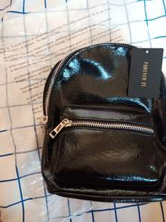 Forever 21 Small Leather backpack