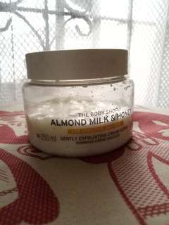 Almond Milk & Honey Cream Scrub