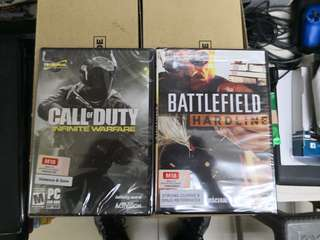 Call of duty and Battlefield