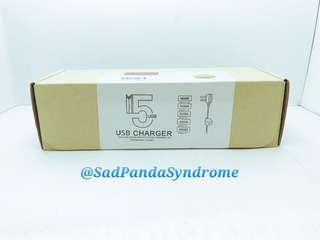 HXR 5 USB Port Charger/Blue
