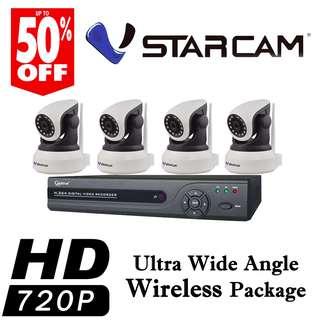 CCTVSG.NET Ultra Wide Angle Wireless Package