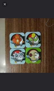 🚚 寶可夢遊戲機卡4張