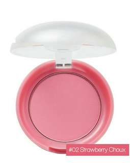 Etude House lovely cookie blusher - Strawberry Choux
