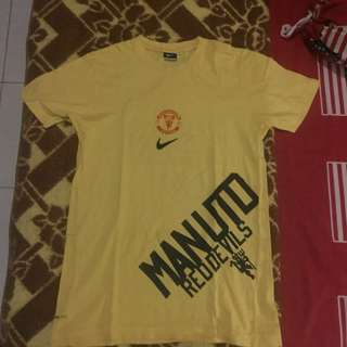 Nike Manchester United Yellow Top Original