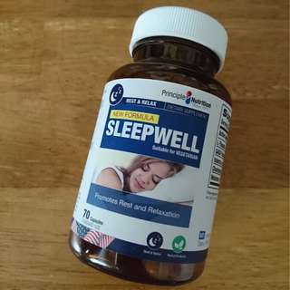 Principle Nutrition Melatonin Sleep Well Pills