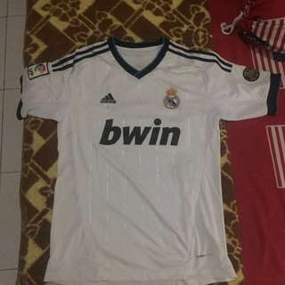 Adidas Real Madrid White Jersey Top Clima Cool ORIGINAL