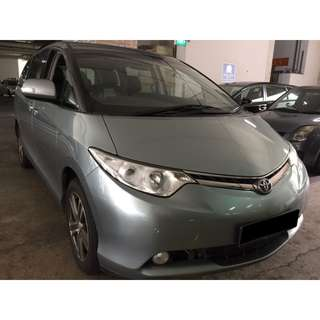 01/06/2018 - 04/06/2018 TOYOTA ESTIMA 8 SEATER ONLY $330 (P PLATE WELCOME)