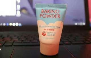ETUDE HOUSE Baking Powder BB Deep Cleansing Foam Cleanser (30mL)